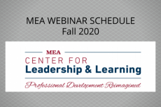 Photo of MEA Professional Learning logo