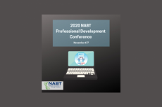 Photo of NABT logo and conference
