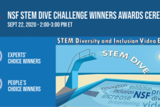 Photo of STEM Dive Challenge poster